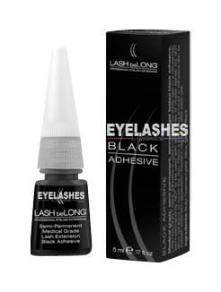 LASH beLONG BLACK Semi-Permanent Medical Grade Adhesive 5ml