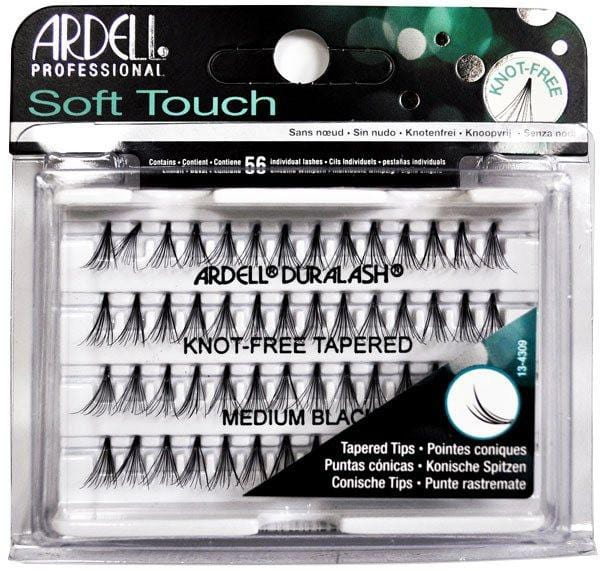 Ardell Soft Touch Knot-Free Tapered Medium BLACK