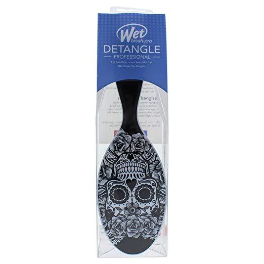 Wet Brush Original Detangler - Sugar Skulls- White