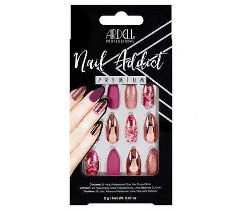 Ardell Nail Addict Chrome Pink Foil