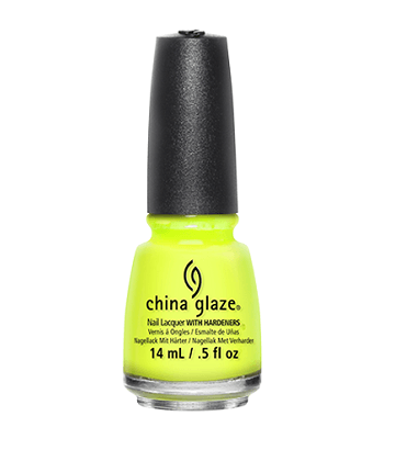 China Glaze Nail Lacquer (Yellow Polka Dot Bikini)