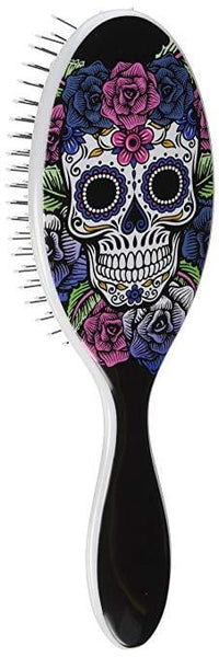 Wet Brush Original Detangler - Sugar Skulls- Purple