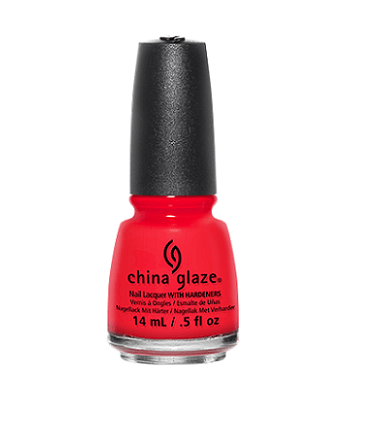 China Glaze Nail Lacquer (The Heat Is On)