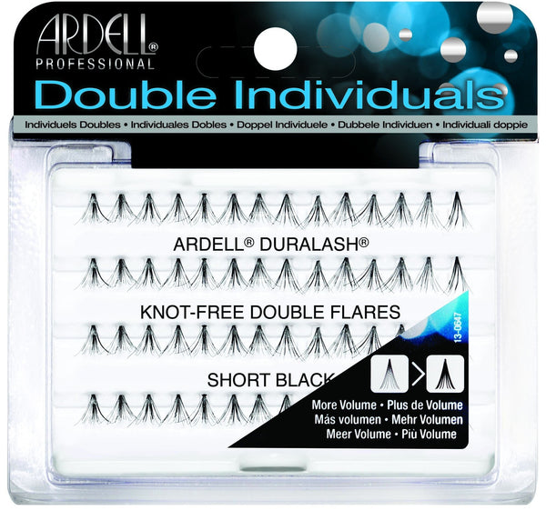 Ardell Knot Free DOUBLE SHORT BLACK