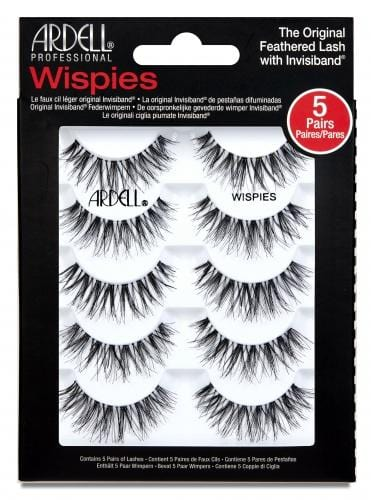 Ardell Wispies BLACK (5 Pack)