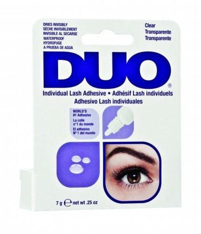 DUO Individual White/Clear Lash Glue (.25oz)