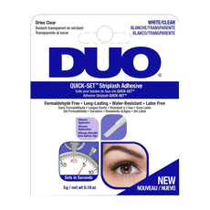 Duo Quick Set Adhesive CLEAR