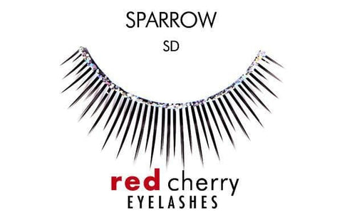 Red Cherry Sparrow BLACK (SD)