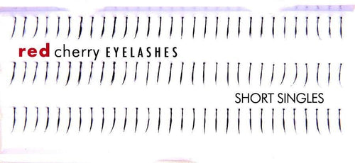 Red Cherry SHORT SINGLES Individual Lashes