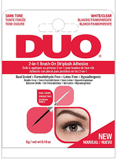 Duo 2 in 1 Brush On Adhesive DARK & CLEAR