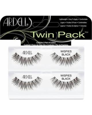 Ardell Wispies BLACK Twin Pack