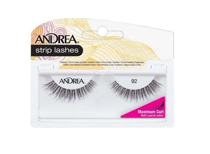 Andrea ModLash Curl 92 BLACK
