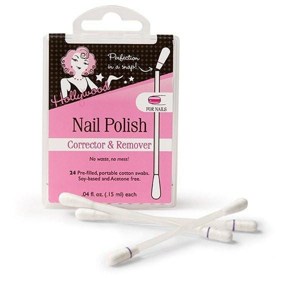 Hollywood Fashion Secrets Nail Polish Remover Swabs - 24