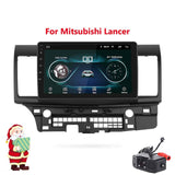 "10.2"" Android 8.1 Car GPS Player Navi Radio for Mitsubishi Lancer 10 Galant with 1G+16G Quad Core NO dvd Radio Multimedia stereo"