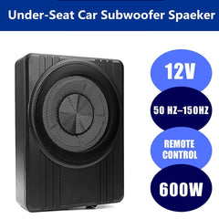 10 Inch  600W  Car Amplifier Subwoofers Slim Under Seat Car Speakers Car Active Subwoofer Bass Amplifier Speaker Enclosure