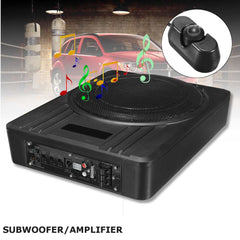 10 Inch 600W  Car Subwoofer Slim Under-Seat Powered Car Amplifier Amp Super Bass Car Speaker Subwoofers Car Audio Speaker