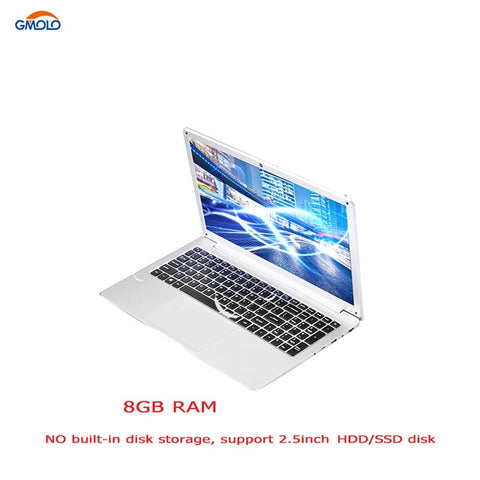 "15.6"" Celeron N4100 quad core DDR4 8GB RAM a laptop optional 240GB SSD/1TB 1920*1080 IPS HD screen gaming notebook"