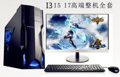 18.5 22 24 inch duo core Desktop Personal Computer i3/i5/i7 gaming desktop computer PC Fashion design computer desktop