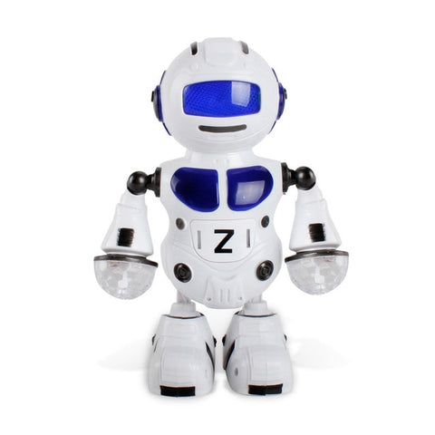 180 Rotating Smart Space Dance Robot Electronic Walking Toys with Music Light for Kids Astronaut Toy Christmas Birthday Gift
