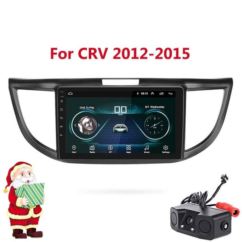 2 Din Android 8.1 GPS Navigation Car Radio Stereo Multimedia Player For Honda CRV 2012 2013 2014 2015 Car Radio Stereo no dvd