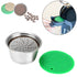 2019 NEW Stainless Steel Coffee Filter Reusable Coffee Capsule Make For Dolce Gusto coffee nespresso refillable capsule art zone