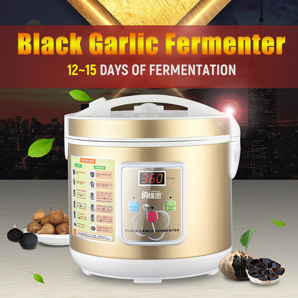 220V/110V 12-15 Days Automatic Garlic Fermenter Ferment Box Black Garlic Maker Machine 5L