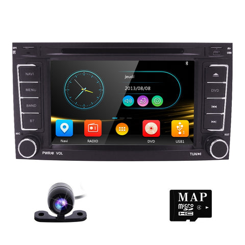2DIN Car DVD for VW Volkswagen Touareg T5 Multivan Radio Car GPS navigation Mirror-Link SWC RDS FM/AM BT GAME SUBWOOFER iPod CAM