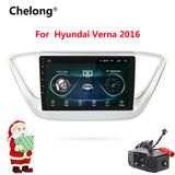 2din Car Radio Android 8.1 Multimedia Player Navigation GPS Player 9 inch For Hyundai solaris verna accent 2016 2017 autoradio
