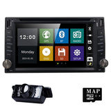 2din New universal Car Radio Double 2 din Car DVD Player GPS Navigation In dash Car PC Stereo video Free Map Car Electronics