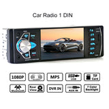 "4.1"" Car Radio 1 Din Mp5 Player Bluetooth Stereo Audio Fm Transmitter Car Video with Remote Control Support Rear view Camera"
