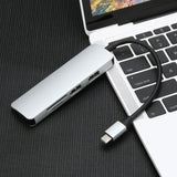 5 in1 NEW Adapter Type C USB 3.0 to 4K HDMI USB 3.0 SD USB 3.0 SD TF TF Card Reader Card Reader  for Macbook #10