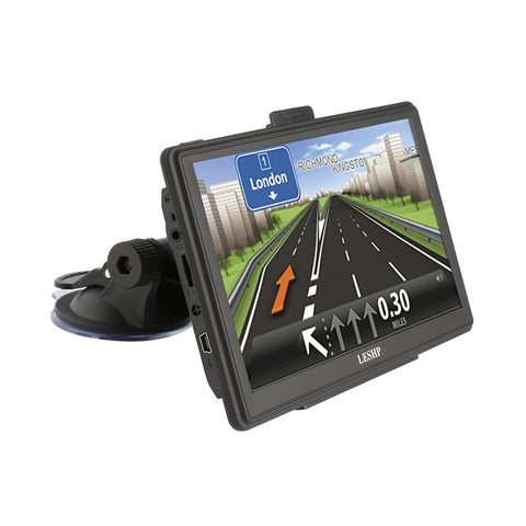 "7"" TFT LCD High-sensitivity Receiver Module FM Transmission Free Lifetime Map 8GB GPS Electronic Satellite Navigation"