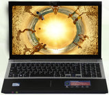 8GB RAM DDR3 - 750GB HDD 15.6inch LED Intel Core i7 CPU Gaming Laptop Windows 7/10 Notebook with DVD-RW Built-in WIFI Bluetooth