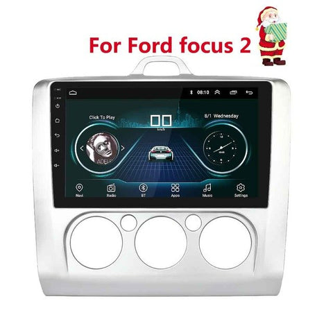 9 inch 2din Android 8.1 Car Radio for 2005-2011 Ford Focus Autoradio GPS Navigation Bluetooth Stereo Multimedia player Autoradio
