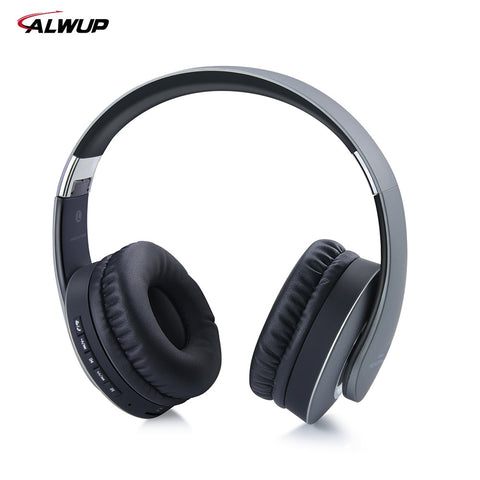 AlWUP UPS601 Wireless Headphones with microphone Bluetooth earphone Sport Bluetooth Wireless Headsets Support FM TF card