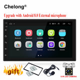 "Android 8.0 universal Car Radio 7"" 2 din car radio gps android 2din Car DVD Player GPS NAVIGATION WIFI Bluetooth MP5 Player"