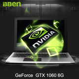 "BBEN G16 15.6"" Pro Win10 Intel I7 7700HQ CPU NVIDIA GTX1060 GDDR5 16G Ram DDR4 RJ45 Wifi BT4.0 Backlit Gaming Laptop Computer"