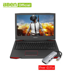 "Bben G17 Gaming laptop NVIDIA GTX1060 GDDR5 17.3"" pro windows10 intel 7th gen. i7-7700HQ  DDR4 8GB/16GB/32GB RAM M.2 SSD"