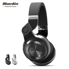 Bluedio original T2 Bluetooth  Wireless Foldable Headphones Built-in Mic 3D sound Headset for cell phone xiaomi Samsung