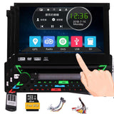 Car Radio Stereo Sing 1 Din Autoradio Receiver Bluetooth GPS Navigation Aux Subwoofer FM AM RDS Car entertainment Windows system