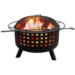 City Lts Mmphs Fire Pit G Clay