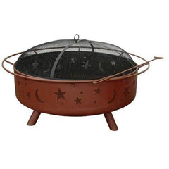 Super Sky Fire Pit Black
