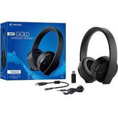 Ps4 Gold Wireless Headset - Us