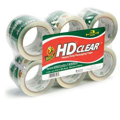 "Duck 3"" HiPerformPckgngTape6pk"