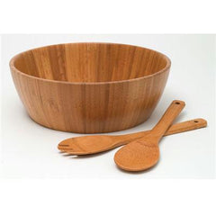 Bamboo 3pc Salad Set