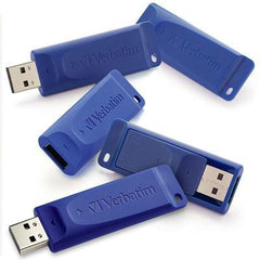 8GB USB Flash Drive 5 Pk Blue