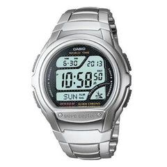 Atomic Digital Watch Silver