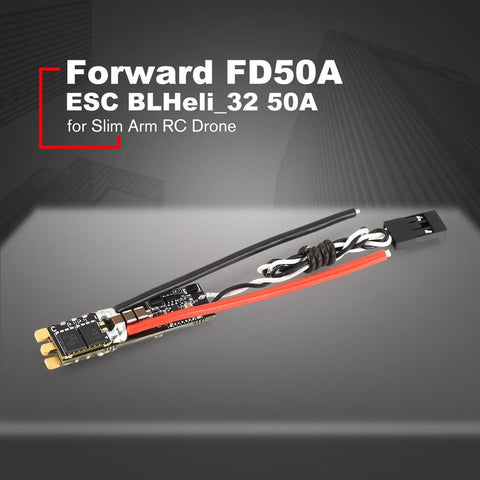 HGLRC Forward FD50A ESC BLHeli_32 50A 2-6S Dshot 1200 Electronic Speed Control for Slim Arm Frame RC FPV Racing Drone