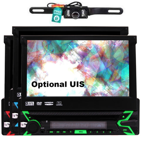 IN Dash Headunit Autoradio bluetooth HD Digital Touchscreen USB SD Aux Subwoofer FM AM RDS Radio Receiver Car DVD Entertainment