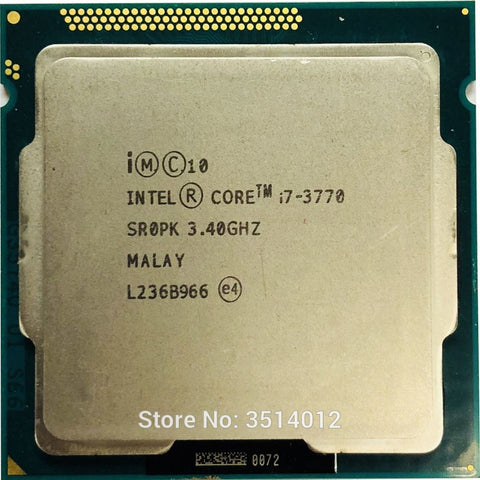 Intel Core i7-3770  i7 3770 3.4 GHz Quad-Core CPU Processor 8M 77W LGA 1155